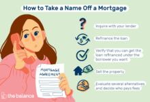 Photo of Comment supprimer un nom d'un prêt hypothécaire (lorsque cela est autorisé)