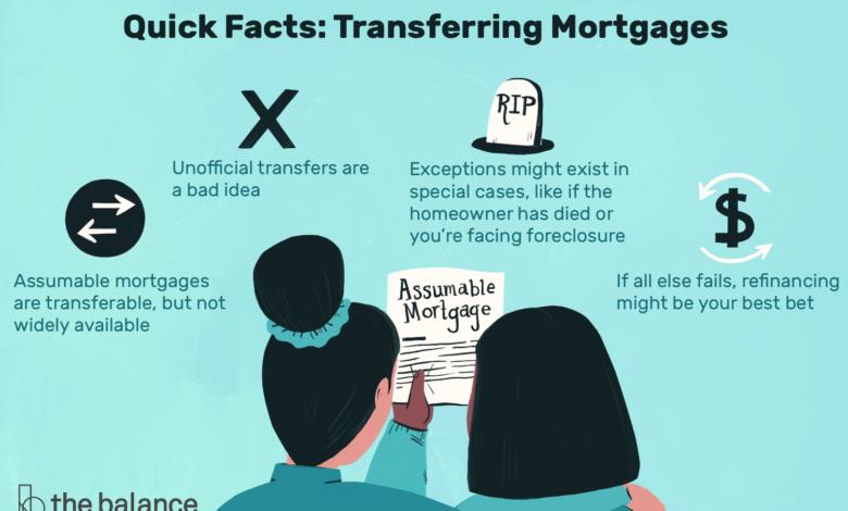 Comment transférer un prêt hypothécaire à un autre emprunteur