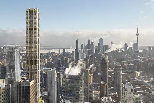 Le boom du développement de Toronto se poursuit malgré le COVID-19