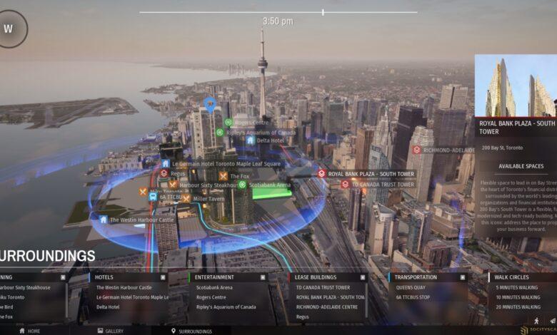 Plateforme 3D de réduction des coûts révolutionnant les ventes immobilières