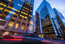 Photo of Grande banque de plus en plus baissière