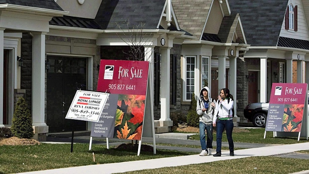 Prior to new rules, Canadian housing starts at strongest levels in 12 months