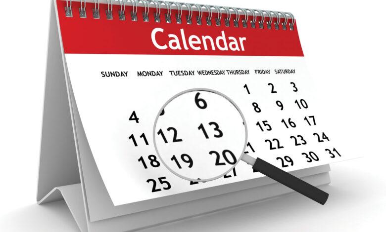 Photo of Courtiers, marquez cette date dans votre calendrier