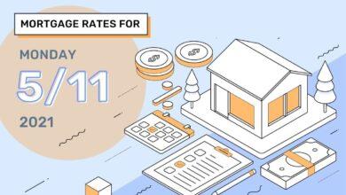 Photo of Taux et tendances hypothécaires d'aujourd'hui, 11 mai 2021