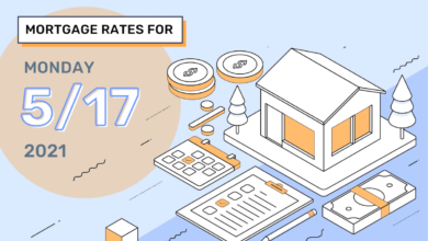 Photo of Taux et tendances hypothécaires d'aujourd'hui, 17 mai 2021