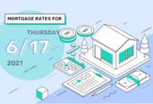 Photo of Taux et tendances hypothécaires d'aujourd'hui, 17 juin 2021