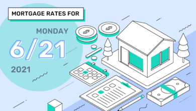 Photo of Taux et tendances hypothécaires d'aujourd'hui, 21 juin 2021