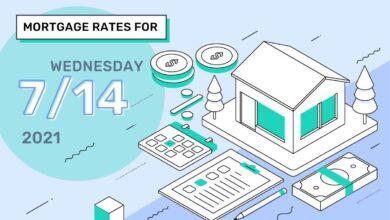 Photo of Taux et tendances hypothécaires d'aujourd'hui, 14 juillet 2021